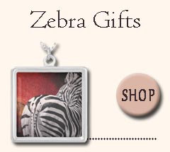 Zebra gifts for all ages